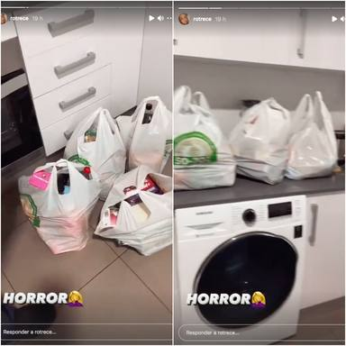 Bolsas de la compra de Rocío Flores