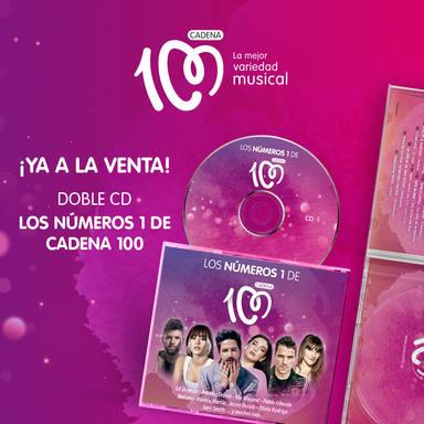 Hazte con el nuevo doble CD de Los Números 1 de CADENA 100