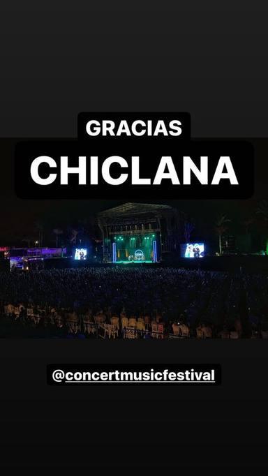 Los Morancos agradecen el apoyo de su público en el Concert Music Festival