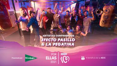 Efecto Pasillo & La Pegatina serán parte del cartel de CADENA 100 Por Ellas