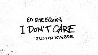 """Ed Sheeran y Justin Bieber presentarían """"I don't care"""" sin haberse visto las caras"""