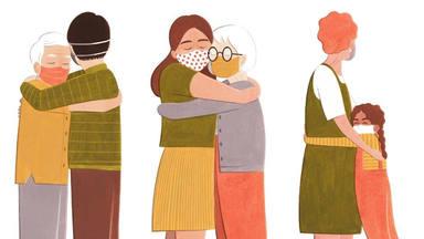 Los abrazos en tiempos de coronavirus