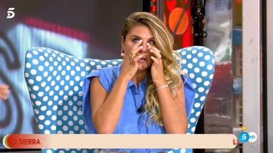 Ivana Icardi rompe a llorar al reencontrarse con su expareja en directo