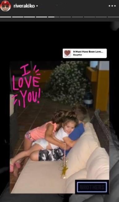 El tierno abrazo de Ana y Carlota, las hijas de Kiko Rivera, con su hermano Francisco