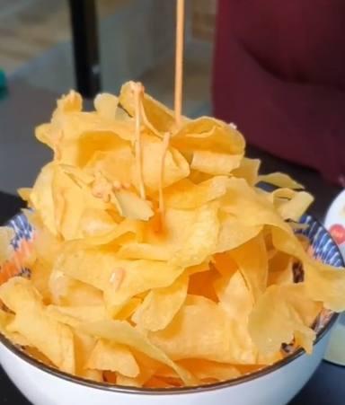 Patatas chips caseras riquísimas