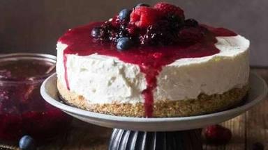 La receta de una cheesecake auténtica