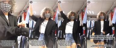 Mayra truco chaquetas