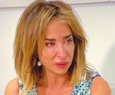 María Patiño llora