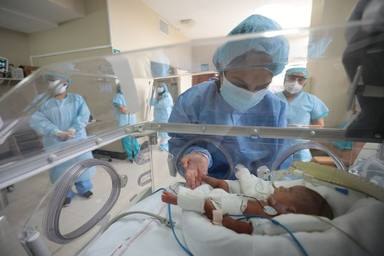 Jorgito, el paciente más joven en superar el coronavirus