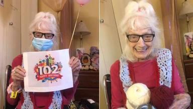 Angelina Friedman, de 102 años, todo un ejemplo de superación