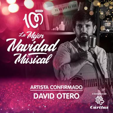 David Otero estará en la gala especial La Mejor Navidad Musical