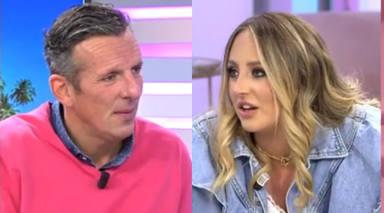 """El incómodo pique de Joaquín Prat y Rocío Flores en pleno directo en 'El programa de Ana Rosa': """"Olga lo sabe"""""""