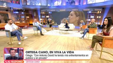 Las palabras de Ortega Cano en directo que dan un giro a su relación con Antonio David: En público y privado