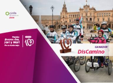 Javier Pitillas y Discamino, premio ¡Buenos días, Javi y Mar! Por un mundo mejor