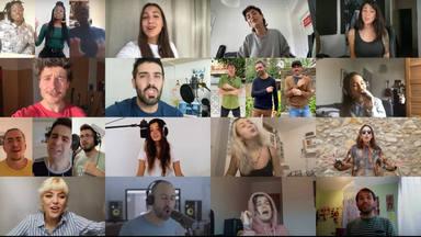 """Miki Núñez reúne a artistas en torno a """"Escriurem"""" en apoyo a #yomecorono"""