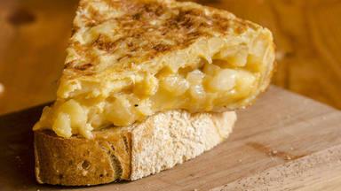 Tortilla de patatas en el microondas baja en calorias