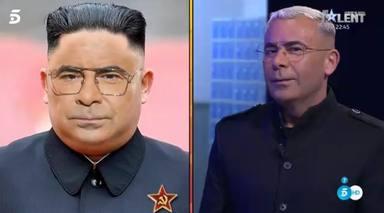 Jorge Javier Vázquez se viste de Kim Jong-un para representar su meme más famoso