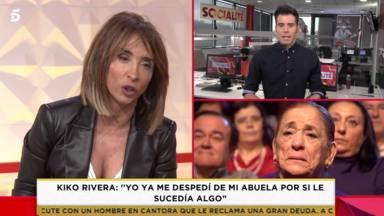 """El mensaje más amargo de Kiko Rivera desenmascara aún más a Isabel Pantoja: """"Yo ya me despedí de mi abuela"""