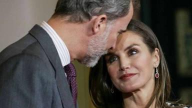 Felipe y Letizia, reyes del Instagram en las Medallas de Bellas Artes