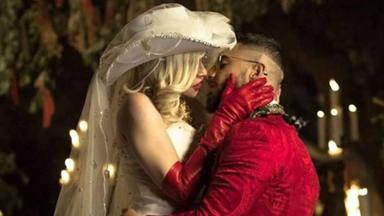 Madonna y Maluma en su videoclip