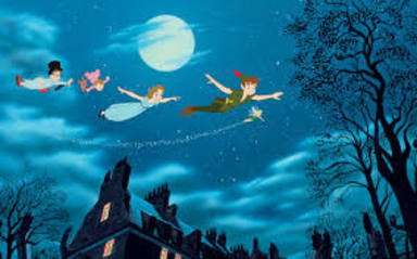 Fotograma de la Película Peter Pan