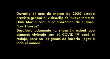 Comunicado Dani Martín