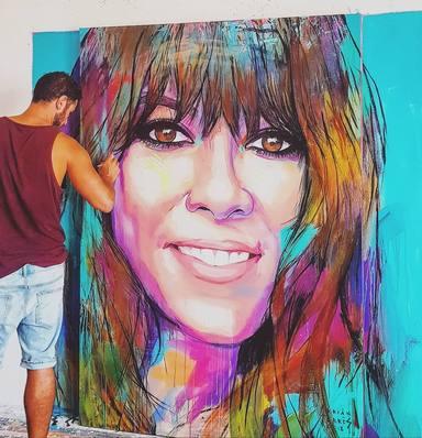 Adrián Torres es el autor de la portada del último disco de Vanesa Martín