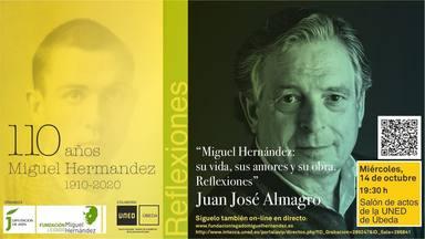 Nutrido programa de la Fundación Legado Literario Miguel Hernández para el último trimestre del año