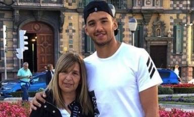 Gero Rulli y su madre
