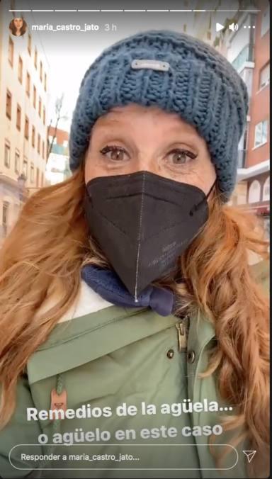 María Castro revela el lado oscuro de Filomena y nos cuenta el secreto para no hacernos daño en la nieve