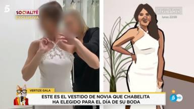 La predicción de María Patiño sobre el matrimonio de Isa P tras ver el vestido de boda: Ojalá me equivoque