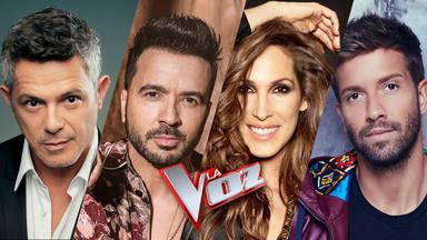 Alejandro Sanz, Luis Fonsi, Malú y Pablo Alborán serán los 'coaches' de la próxima edición de 'La Voz'
