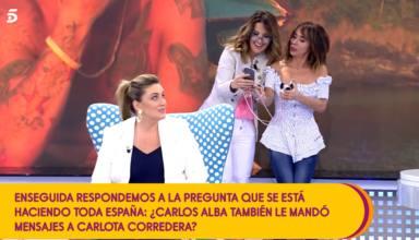 Sale a la luz la gran lista de mensajes que Carlos Alba envió a colaboradoras de Telecinco