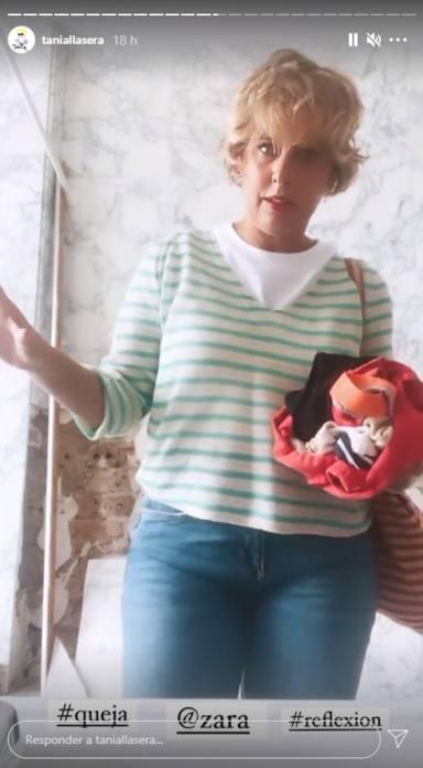 No tenéis vergüenza: Tania Llasera lanza un contundente mensaje contra las marcas y sus tallajes