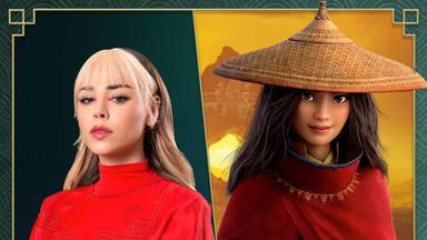 Danna Paola en Raya, lo nuevo de Disney