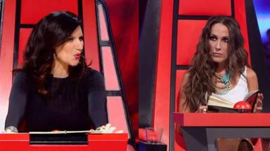 Malú y Laura Pausini