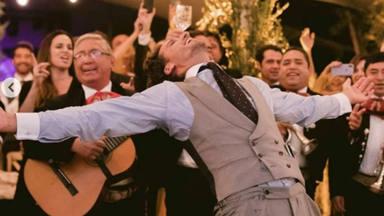 Las dos caras de Feliciano López en los diferentes días de su boda con 4 años de por medio