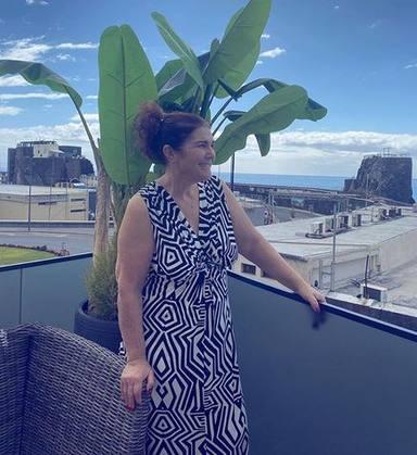 Dolores Aveiro recibe el alta hospitalaria