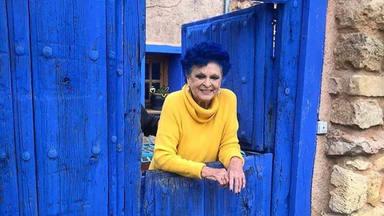 Lucía Bosé y el emotivo significado de su pelo azul