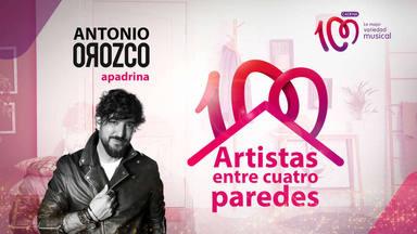 Antonio Orozco apadrina Artistas entre cuatro paredes junto a CADENA 100