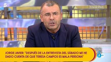 La madre de Jorge Javier carga contra María Teresa Campos