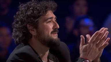 Antonio Orozco sorprendido por un comentario de una concursante