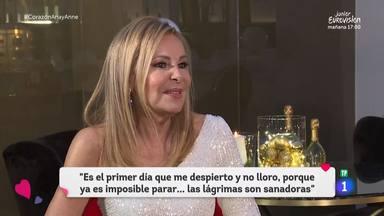 Ana Obregón primera entrevista en televisión con su hijo Álex Lequio muy presente