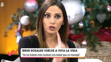 Irene Rosales opina sobre Asraf Beno