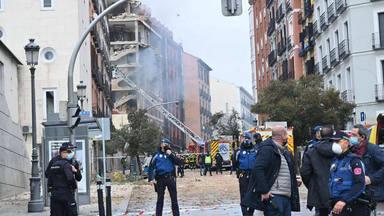 Fuerte explosión en el centro de Madrid los famosos se vuelcan para ayudar