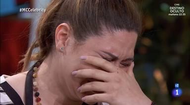 Tamara rompe en llanto como primera expulsada de 'MasterChef Celebrity 6'