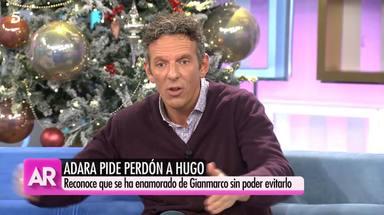 """Joaquín Prat carga contra Adara por no contarle la verdad a su pareja, Hugo Sierra: """"No eres una niña"""""""
