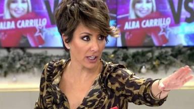 Sonsóles Ónega, muy molesta con Alba Carrillo y Miguel Figenti: ''no me gusta esta situación''