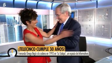 Sonsoles Ónega se emociona al compartir plató con su padre Fernando Ónega