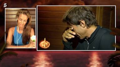 Hugo Sierra se rompe al acordarse de la realidad que le espera fuera con Adara cuando acabe Supervivientes